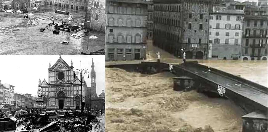 Aniversario 50 de la inundación en Florencia, 5 de Noviembre de 1966
