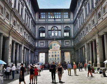 The Uffizi Gallery of Florence