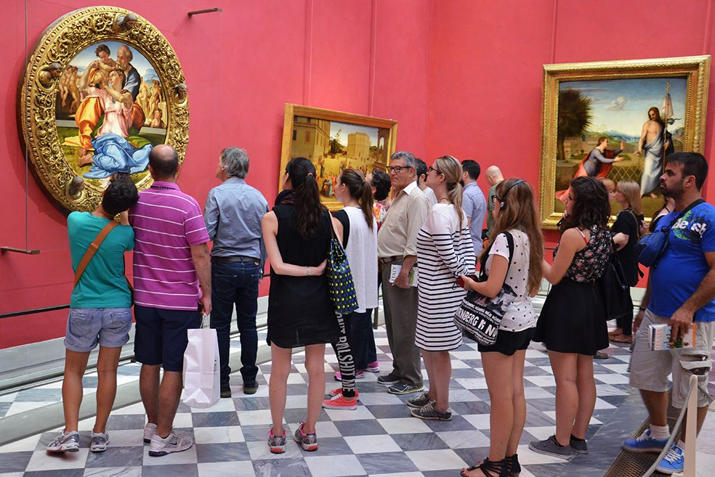Italian language through art history course