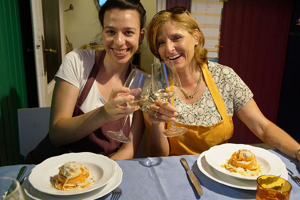 Intensive Italian language course + cooking classes