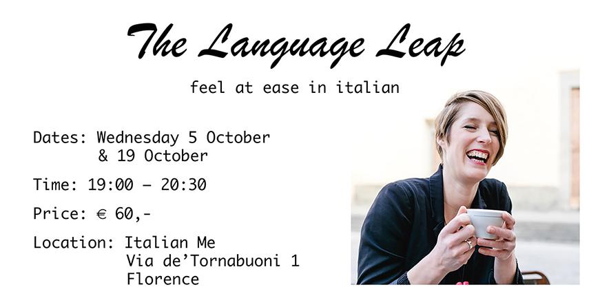 Hablar un idioma - sentirte a gusto en italiano