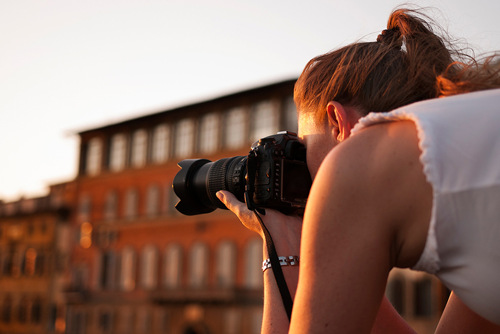 Italian language course and photography