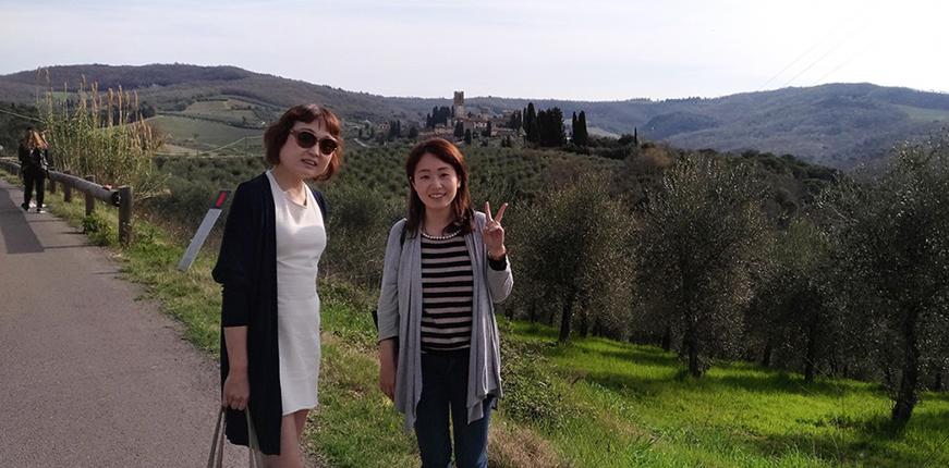 Una bellissima giornata nel Chianti con Italian me