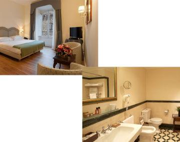4つ星ホテル 滞在とイタリア語コースの週末プラン