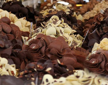 The chocolate Festival in Perugia this weekend