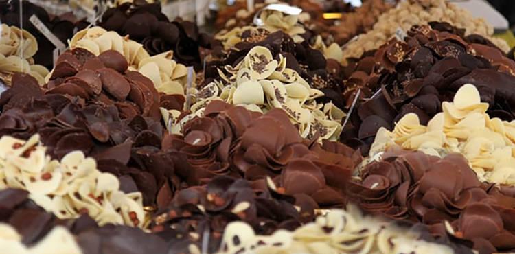 Das Schokoladenfestival in Perugia an diesem Wochenende